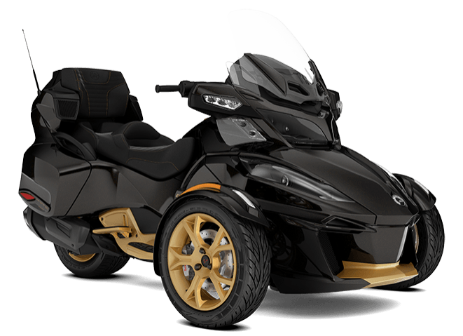 2018 Can-Am Spyder RT Limited SE6 10th Anniversary in Lakeport, California