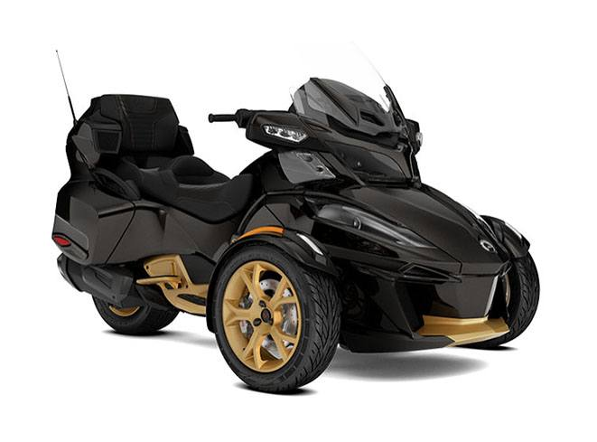 2018 Can-Am Spyder RT Limited SE6 10th Anniversary in Wasilla, Alaska