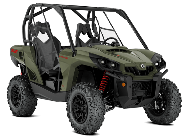 2018 Can-Am Commander DPS 800R in Baldwin, Michigan