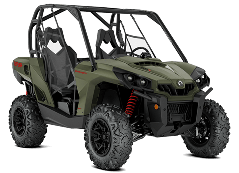 2018 Can-Am Commander DPS 800R in Barre, Massachusetts