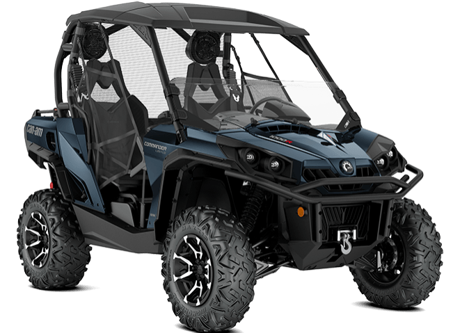 2018 Can-Am Commander Limited in Wisconsin Rapids, Wisconsin