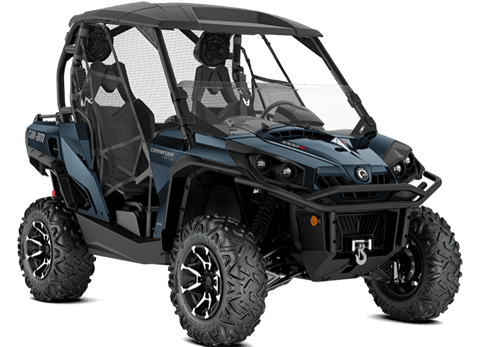 2018 Can-Am Commander Limited in Colebrook, New Hampshire