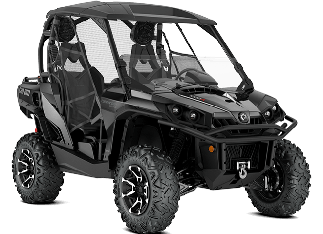 2018 Can-Am Commander Limited in Gridley, California