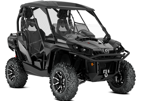 2018 Can-Am Commander Limited in Clinton Township, Michigan