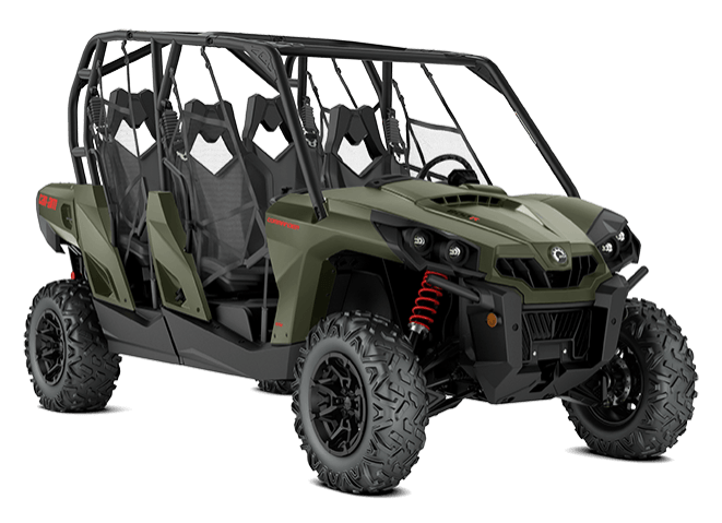 2018 Can-Am Commander MAX DPS 800R in Barre, Massachusetts