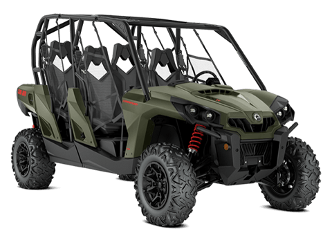 2018 Can-Am Commander MAX DPS 800R in Colebrook, New Hampshire