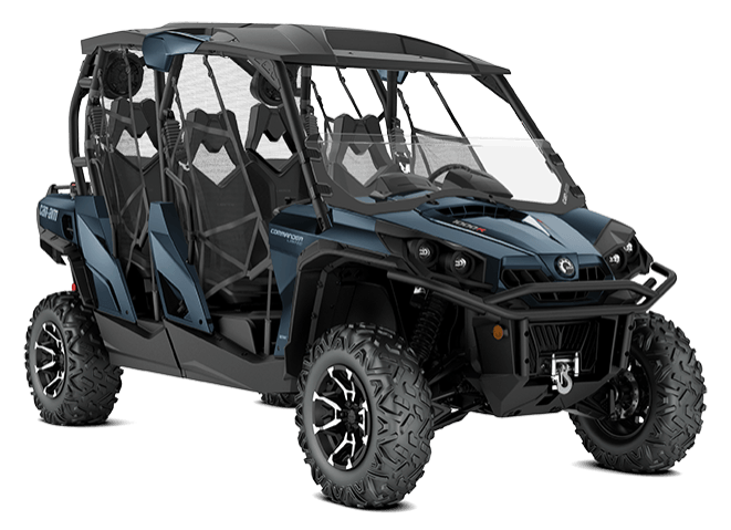 2018 Can-Am Commander MAX Limited in Hillman, Michigan