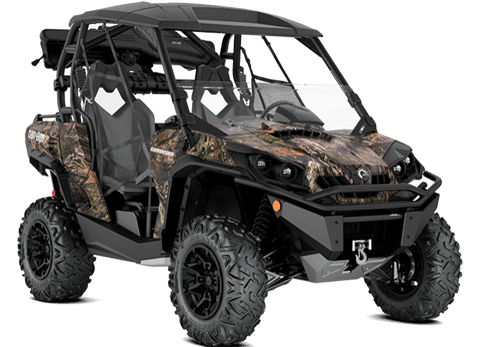 2018 Can-Am Commander Mossy Oak Hunting Edition in Colebrook, New Hampshire