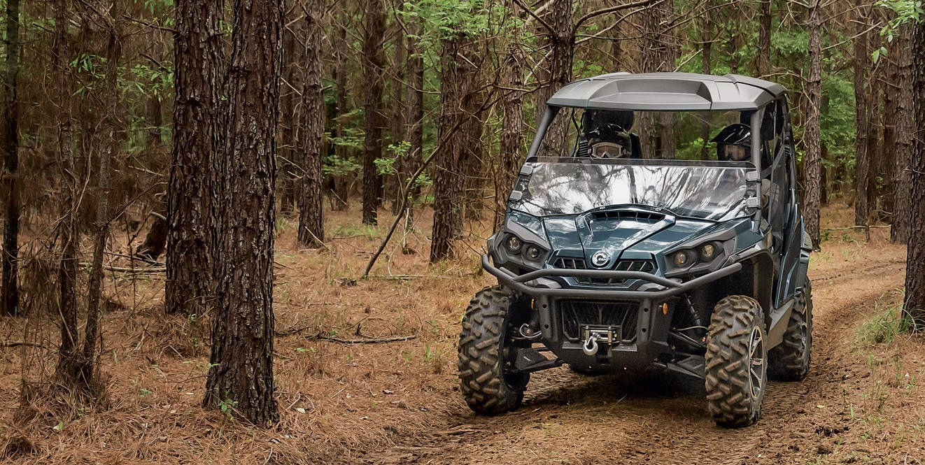2018 Can-Am Commander Mossy Oak Hunting Edition in Douglas, Georgia