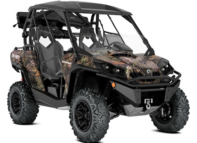 2018 Can-Am Commander Mossy Oak Hunting Edition in Wasilla, Alaska