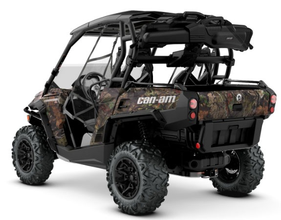 2018 Can-Am Commander Mossy Oak Hunting Edition in Bennington, Vermont