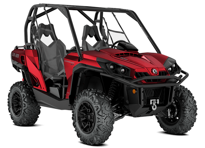 2018 Can-Am Commander XT 1000R in Hollister, California