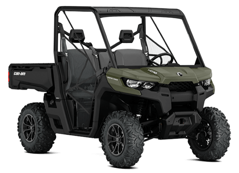 2018 Can-Am Defender DPS HD8 in Clinton Township, Michigan