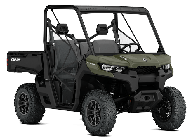 2018 Can-Am Defender DPS HD8 in Jones, Oklahoma