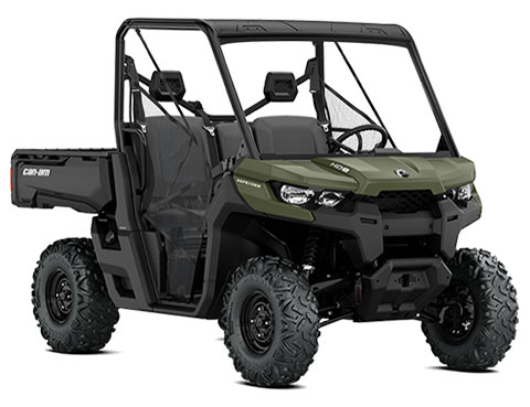 2018 Can-Am Defender HD8 Convenience Package in Barre, Massachusetts