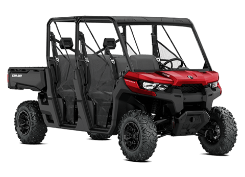 2018 Can-Am Defender MAX DPS HD8 in Broken Arrow, Oklahoma
