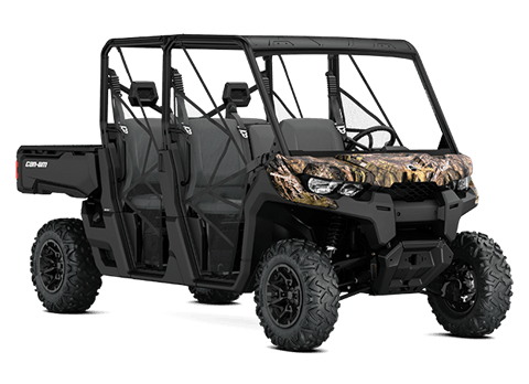 2018 Can-Am Defender MAX DPS HD8 in Afton, Oklahoma