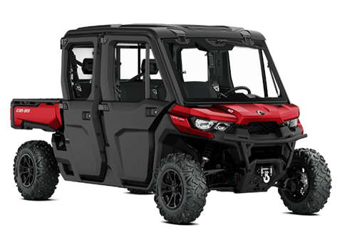 2018 Can-Am Defender MAX XT CAB HD10 in Barre, Massachusetts