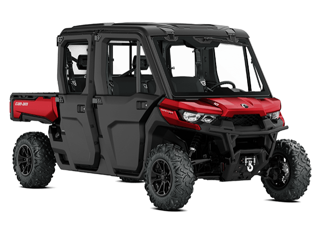 2018 Can-Am Defender MAX XT CAB HD10 in Batavia, Ohio