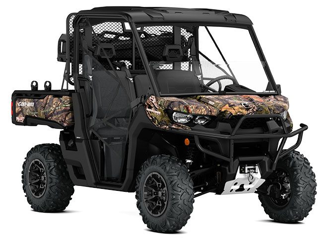 2018 Can-Am Defender Mossy Oak Hunting Edition HD10 in Waterbury, Connecticut