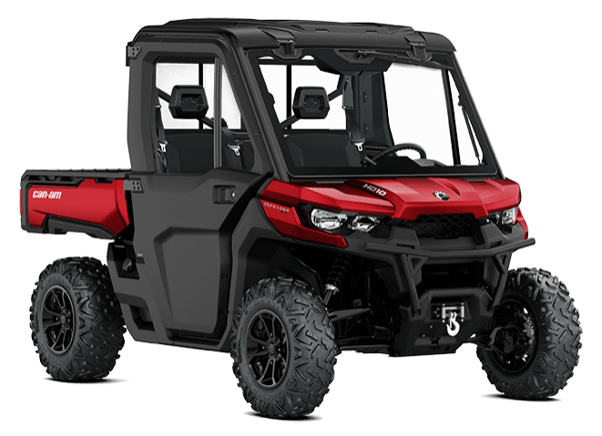 2018 Can-Am Defender XT CAB HD10 in Inver Grove Heights, Minnesota