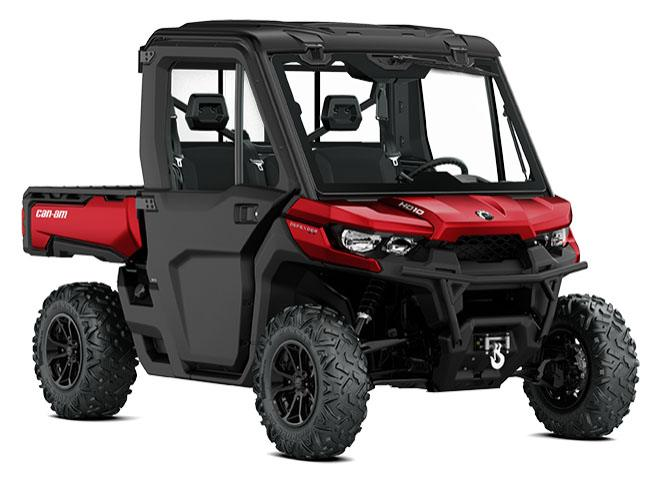 2018 Can-Am Defender XT CAB HD10 in Cartersville, Georgia