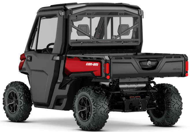 2018 Can-Am Defender XT CAB HD8 in Columbus, Nebraska