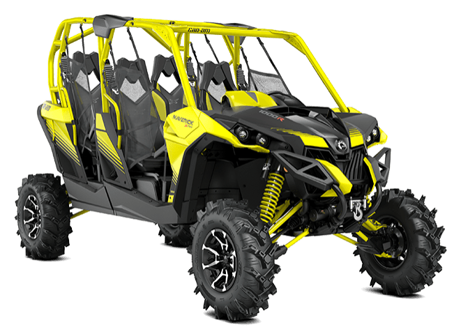 2018 Can-Am Maverick MAX X MR in Colebrook, New Hampshire