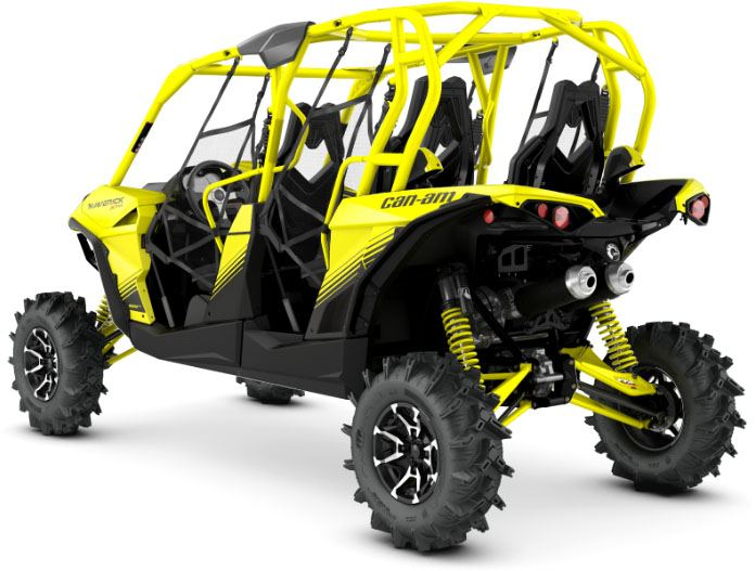 2018 Can-Am Maverick MAX X MR in Leland, Mississippi