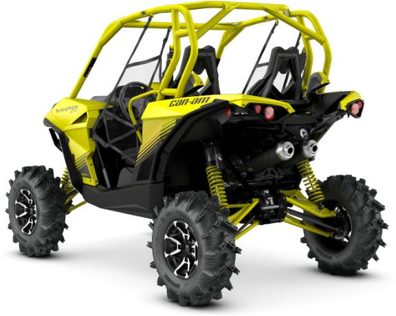 2018 Can-Am Maverick X MR in Barre, Massachusetts