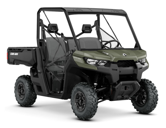 2018 Can-Am Defender DPS HD5 in Baldwin, Michigan