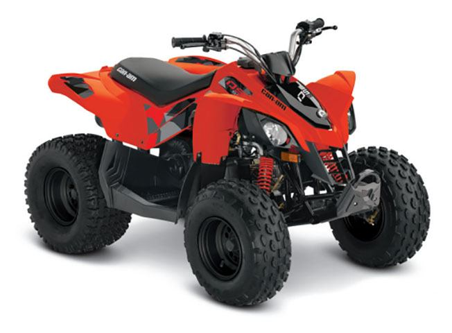 2019 Can-Am DS 90 in Colebrook, New Hampshire