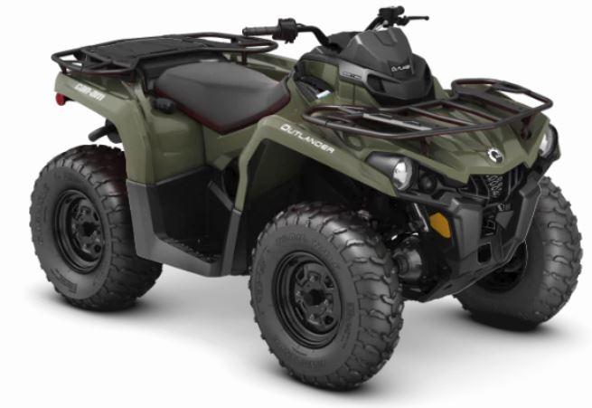 2019 Can-Am Outlander 450 in Minocqua, Wisconsin