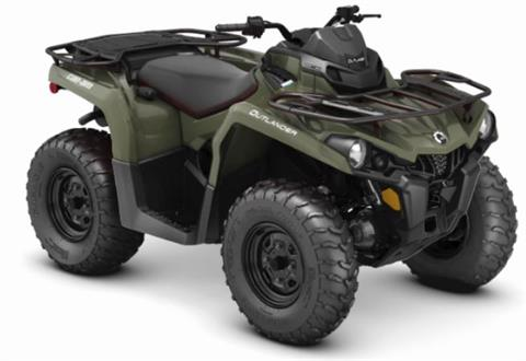 2019 Can-Am Outlander 570 in Hillman, Michigan