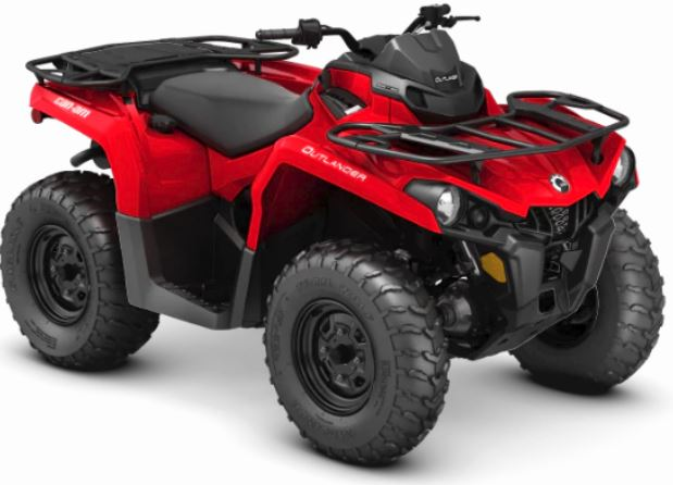 2019 Can-Am Outlander 570 in Batavia, Ohio