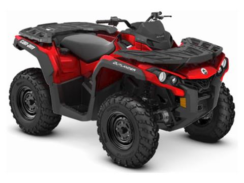 2019 Can-Am Outlander 650 in Colebrook, New Hampshire