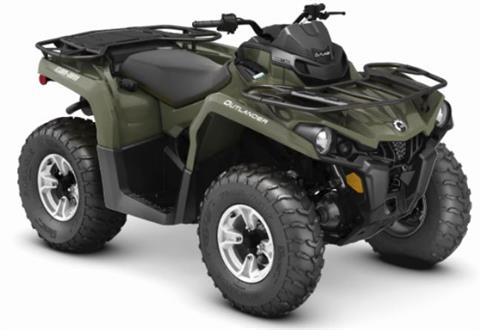 2019 Can-Am Outlander DPS 450 in Barre, Massachusetts