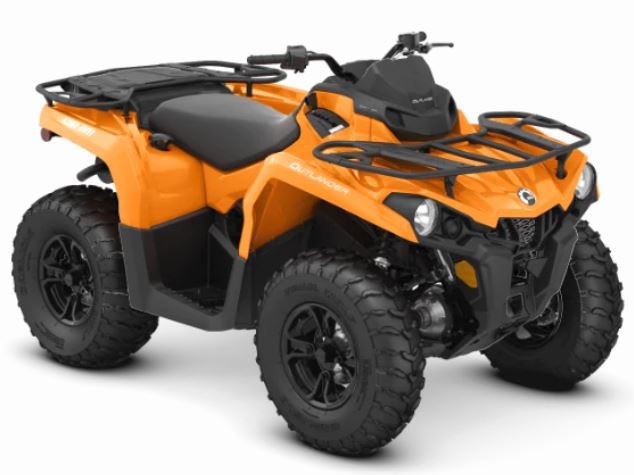 2019 Can-Am Outlander DPS 450 in Hillman, Michigan