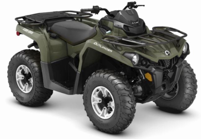 2019 Can-Am Outlander DPS 570 in Barre, Massachusetts