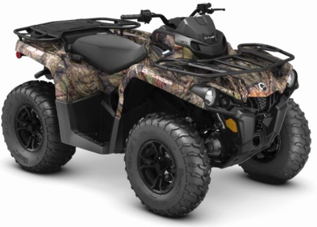 2019 Can-Am Outlander DPS 570 in Cambridge, Ohio