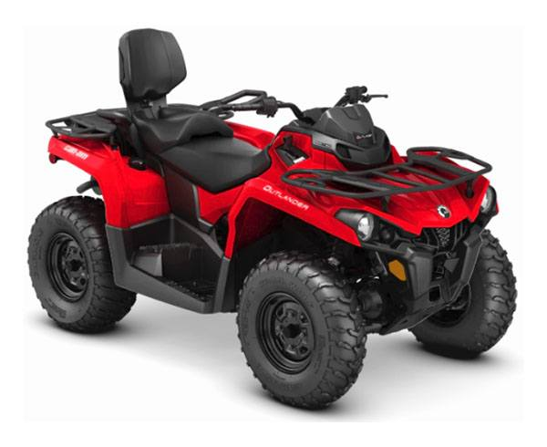 2019 Can-Am Outlander MAX 570 in Baldwin, Michigan
