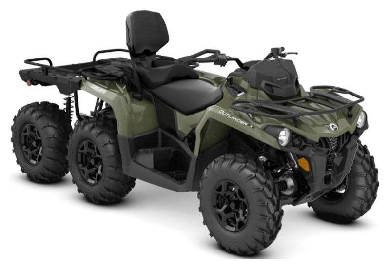 2019 Can-Am Outlander MAX 6X6 DPS 450 in Brilliant, Ohio