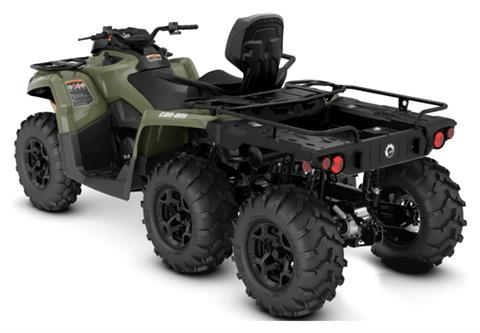 2019 can am outlander max 6x6 dps 450 green atvs. Black Bedroom Furniture Sets. Home Design Ideas