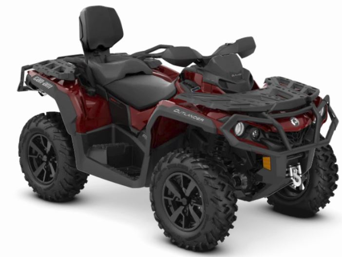 2019 Can-Am Outlander MAX XT 650 in Colebrook, New Hampshire