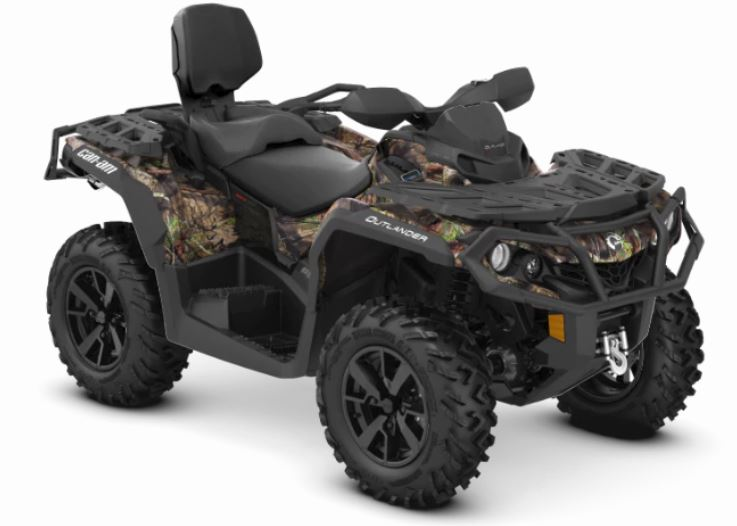 2019 Can-Am Outlander MAX XT 650 in Paso Robles, California
