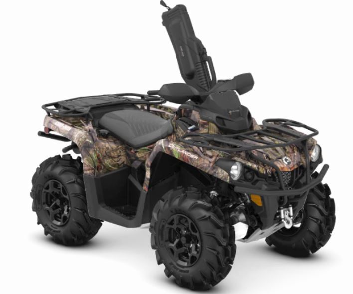 2019 Can-Am Outlander Mossy Oak Hunting Edition 450 in Zulu, Indiana - Photo 1