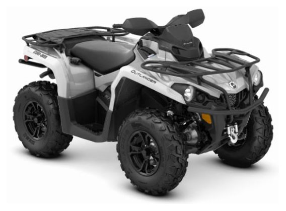 2019 Can-Am Outlander XT 570 in Oklahoma City, Oklahoma - Photo 1