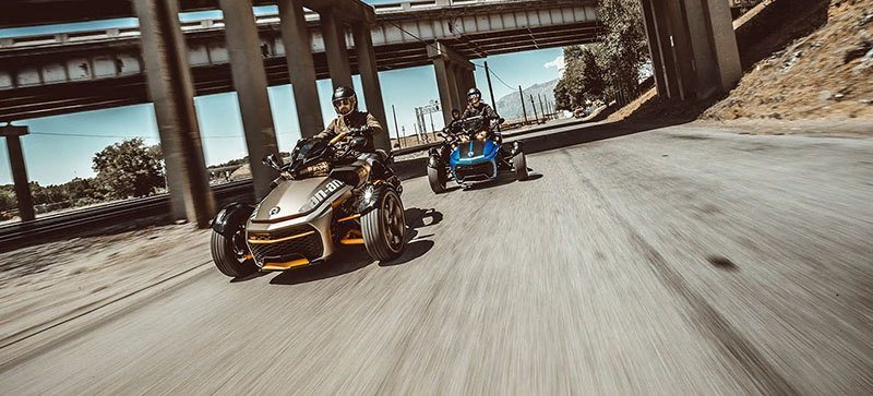 2019 Can-Am Spyder F3-S SM6 in Castaic, California