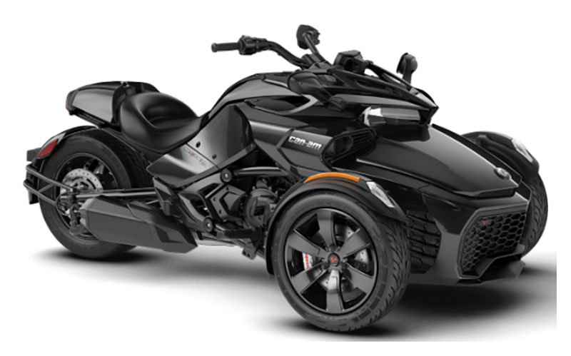 2019 Can-Am Spyder F3 in Baldwin, Michigan