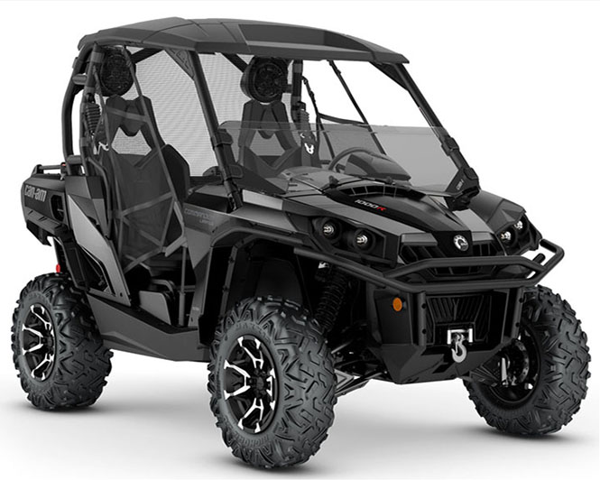 2019 Can-Am Commander Limited 1000R in Durant, Oklahoma